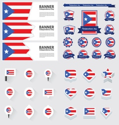 SET PUERTO RICO vector