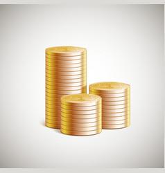 Stack money vector