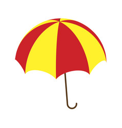 umbrella symbol icon design vector image