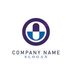 pharmacy logo 2 vector image