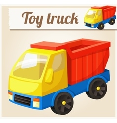 Toy truck Cartoon vector image vector image