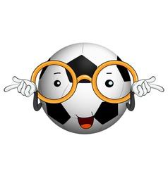 a football vector image