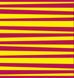 abstract horizontal striped pattern yellow and vector image