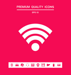 Internet connection icon graphic elements for vector