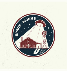 space aliens humans are not alone shirt t vector image