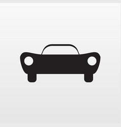 sport car icon flat symbol auto isolated o vector image