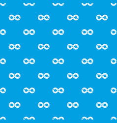 Track pattern seamless blue vector