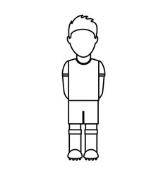 Uruguayan player soccer icon vector