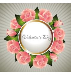 valentines illustration vector image vector image