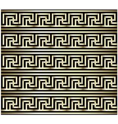 Greek Key Swastika Design vector image