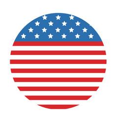 American flag cartoon vector