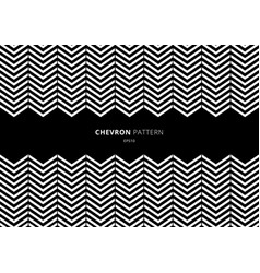 black and white chevron pattern with space for vector image