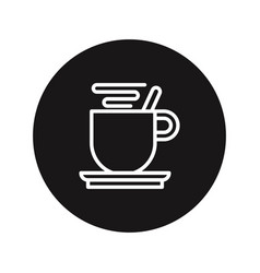coffee break icon vector image