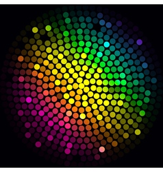 Colorful lights - abstract background vector