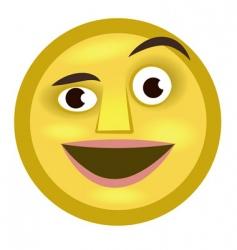 emoticon vector image