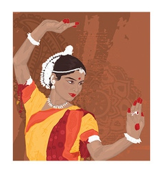 Indian woman vector image