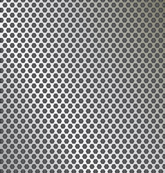 metal texture pattern with holes vector image