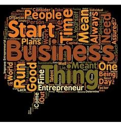 entrepreneur biography text background wordcloud vector image