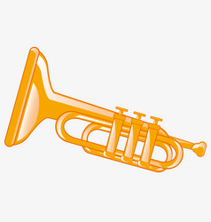 Music instrument pipe vector