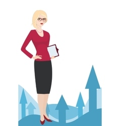 PR specialist on a white background vector