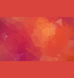 red white polygonal mosaic background creative vector image