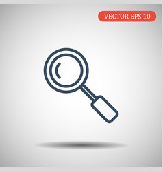 Search icon in trendy thick line style isolated on vector