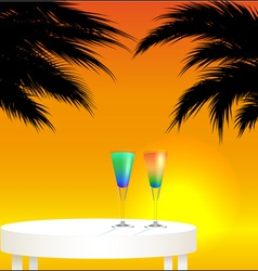 Tropical trip vector image vector image