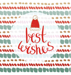 Best wishes - new year card for greetings cards vector