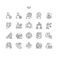 business administration well-crafted pixel vector image