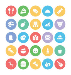 Celebration and Party Icons 3 vector