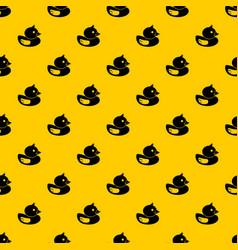 Duck pattern vector