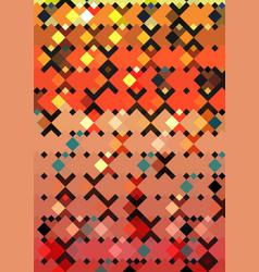 geometric square pattern design template vector image