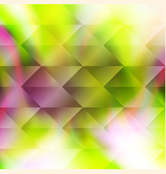 Green polygonal hexagonal elements vector