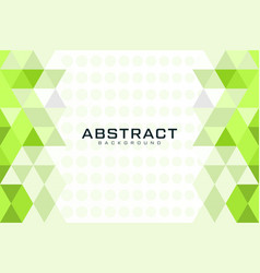 Inspirational triangle abstract vector