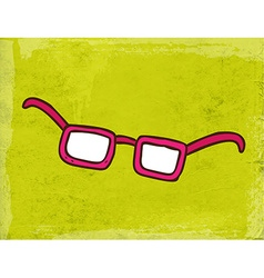 Reading Glasses Cartoon vector