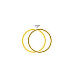 Ring logo vector