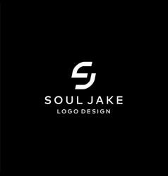 Sj logo vector