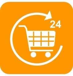 Twenty-Four Hour Shopping vector