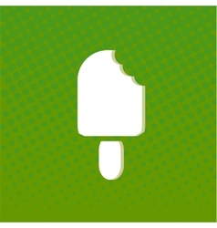 Flat Icon with shadow vector image