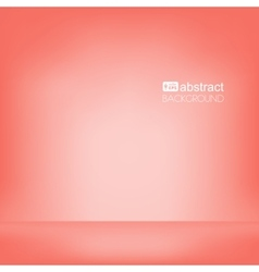Background red empty room mock up vector