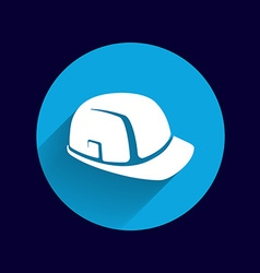 Construction helmet icon button logo symbol vector