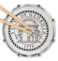 Georgia snare drum vector