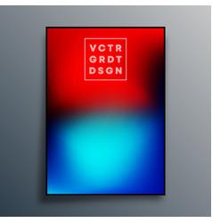 gradient texture poster design for wallpaper vector image