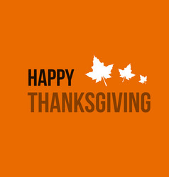Happy thanksgiving background card style vector