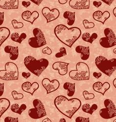 Hearts seamless vector