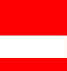 Indonesia national flag jakarta vector