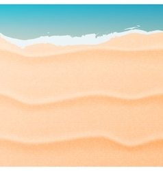 Sand and sea vector