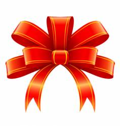 Christmas gift decoration vector image vector image