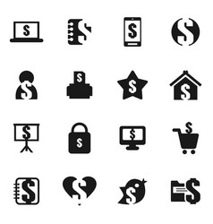 money an icon8 vector image vector image