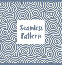 Abstract seamless circles vector